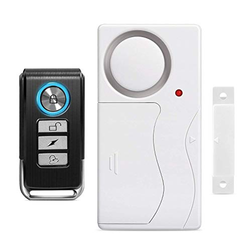 Wsdcam Door Alarm Wireless Anti-Theft Remote Control Door and Window