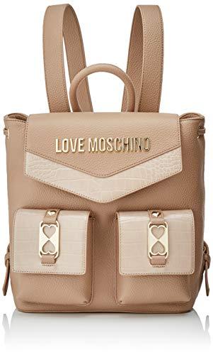 Love Moschino Damen JC4290PP0BKP120A Rucksack, Braun, Normale