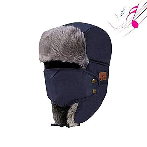 MGWA Bluetooth-Beanie. UALSD Bluetooth Mütze Hut mit musikalischen gestrickte Mütze Kopfh?rer mit eingebauten Stereo-Lautsprecher Earmuffs für Kinder/Damen/Frauen/M?nner Geschenke Nacht l?uft Outdoor