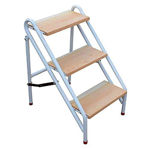ZXMDP 3 Heavy Duty ladder van staal, inklapbaar, draagbaar met anti-slip mat max.