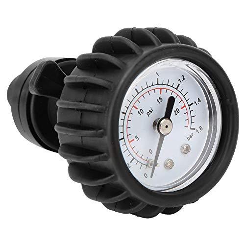 Samfox Manometer, Barometer Luftdruckmesser für Schlauchboot Raft Kayak 25PSI 1.6BAR