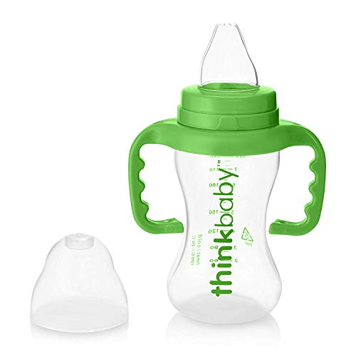 Thinkbaby Sippy Cups, Light Green, 9 Ounce