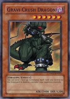 Yu-Gi-Oh! - Gravi-Crush Dragon (DP07-EN011) - Duelist Pack 7 Jesse Anderson - Unlimited Edition - Common