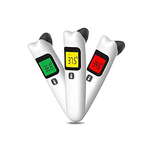 Termómetro Para Bebés,Termómetro Digital Oído,Termómetro Médico Infrarrojo para el bebé adulto del niño con la memoria y el indicador de fiebre, medición precisa FDA/CE/RoHS