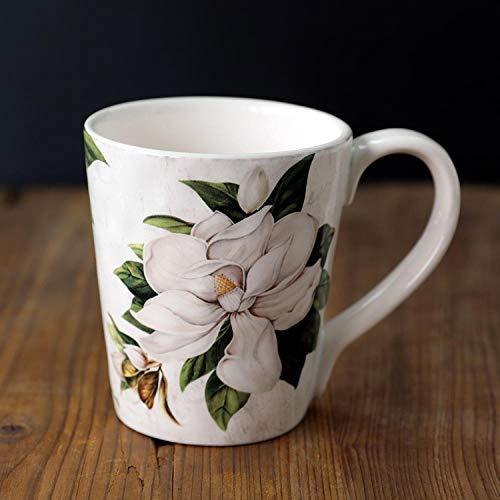 IRCATH grappige koffiemok voor kantoor - landschap-lelie keramiek servies schaal thee-schaal beker sap schaal