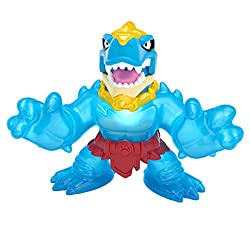 With powerful huge claws Dinogoo Tyro has evolved into the ultimate Goo Jit Zu fighter! e unleashes terrorizing sounds as his inner goo energy lights up, showing everyone that this prehistoric mega monster is powered up and ready for battle! With new...