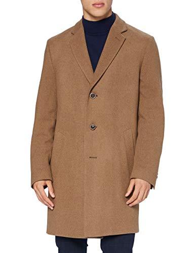 BUGATTI 621200-64039 Cappotto di Lana, Cognac, 50 Uomo
