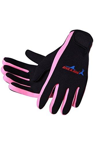 Micosuza Neoprene 1.5mm Five Finger Dive Gloves
