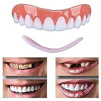 5ピースブレースパーフェクトベニア義歯義歯笑顔鋸歯状義歯歯トップコンフォートフィット歯ソケットにホワイト歯美しいニート、化粧歯