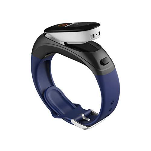LYB En Stock Fast Dispatch Fitness Smart Band, Activity Watch con Ritmo Cardíaco, Pulsera Inteligente (Color : Blue)
