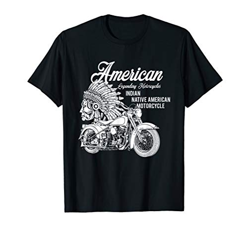 Motorcycle Indian T-shirt
