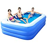 Inflatable Swimming Pool Hot Tubs Bathtubs Inflated Tubs...