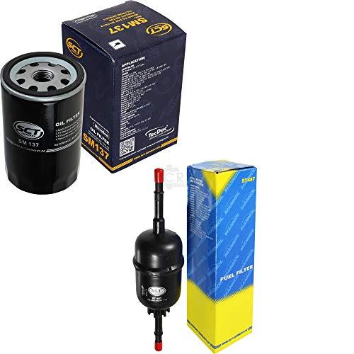 Preisvergleich Produktbild SCT Germany Inspektions Set Inspektionspaket Ölfilter Kraftstofffilter