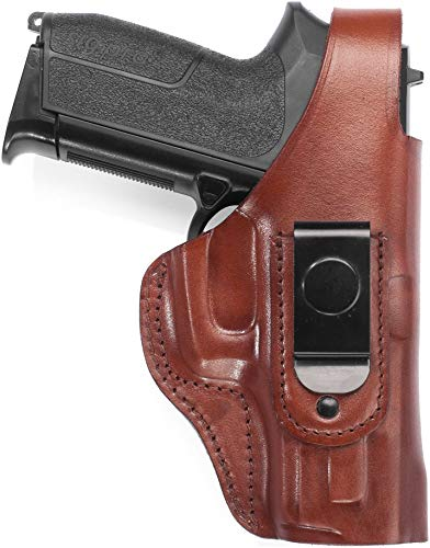 "Craft Holsters SW Model 686 Plus - 3"" Compatible Holster - Leather IWB Holster with Steel Clip (20S-MAH)"