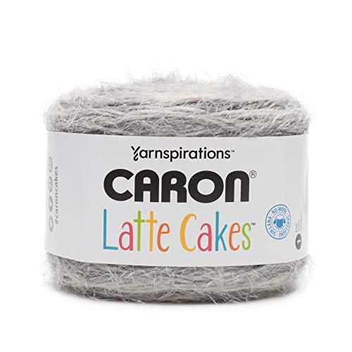 Caron Latte Cakes Self-Striping Yarn, 8.8 oz. / 250g, 530 Yards / 485 Meters (Earl Gray 291222-22014)