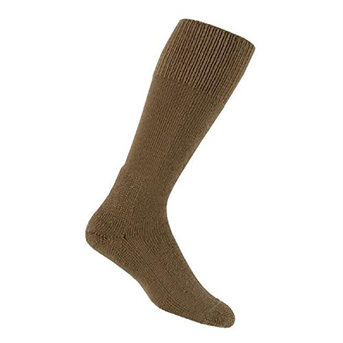 Thorlos Unisex MCB Combat Thick Padded Sock, Coyote Brown, Large