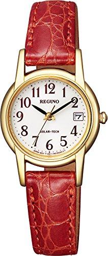 [シチズン] 腕時計 レグノ ソーラーテック レディス ストラップ KH4-823-90 レッド
