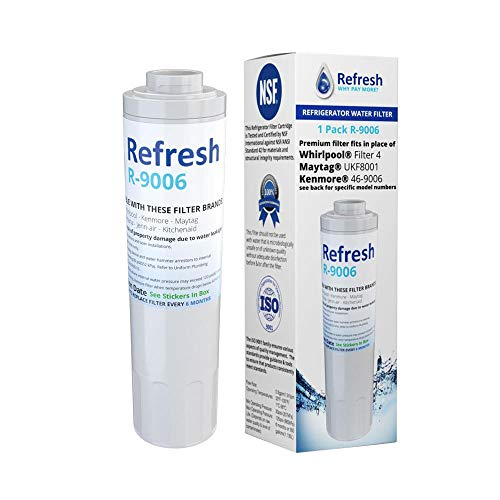 Replacement Water Filter For KitchenAid UKF8001 EDR4RXD1 67003523-750 KRFF305ESS KFIS20XVMS11