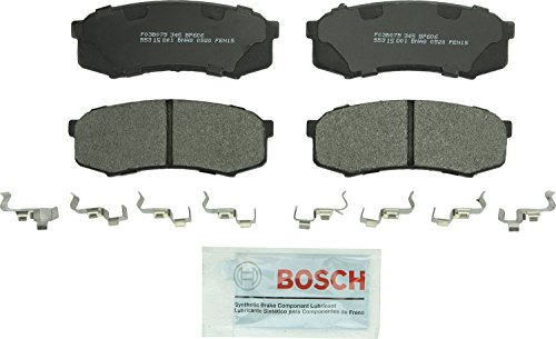 Bosch BP606 QuietCast Premium Semi-Metallic Disc Brake Pad Set For: Lexus GX460, GX470, LX450; Toyota 4Runner, FJ Cruiser, Land Cruiser, Sequoia, Rear