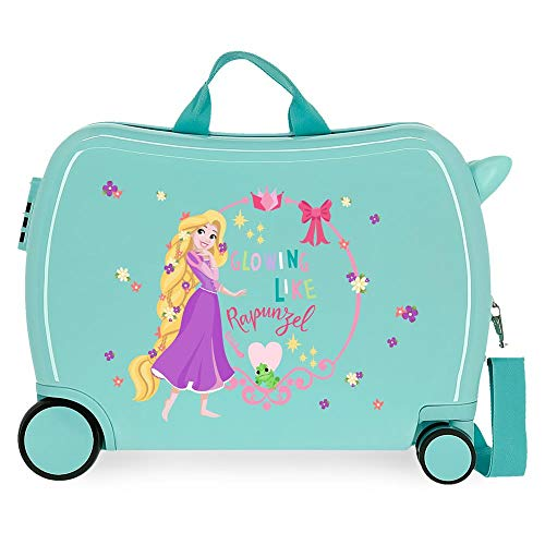 Disney Princess Celebration Children's Suitcase Green 50 x 38 x 20 cm Rigid ABS Side Combination Closure 34L 3 kg 4 Hand Luggage