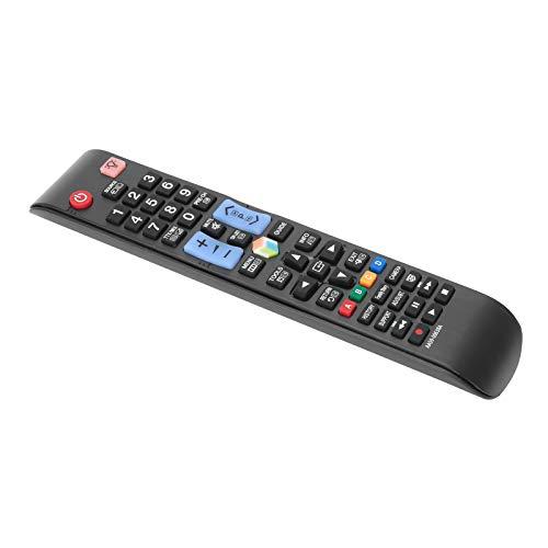 Tomanbery Rendimiento Estable, cómodo Control Remoto de TV Botones sensibles Material ABS Seguro y Duradero para Reemplazo del Control Remoto de televisión