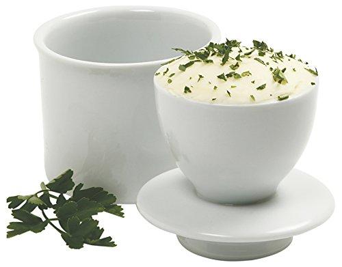 Norpro Stoneware Butter Keeper /バターキーパー ホワイト