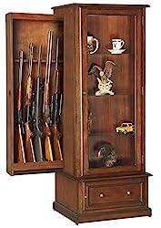 Concealed Gun Curio by American Furniture Classics