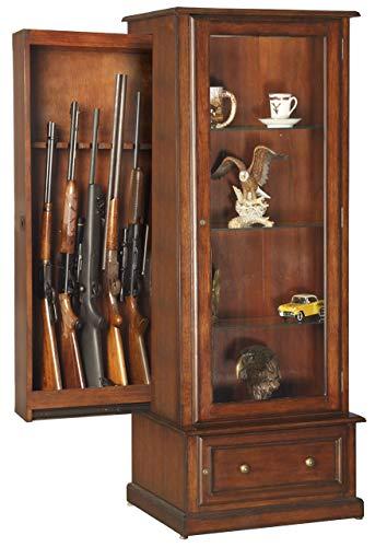 American Furniture Classics 611 10 Gun/Curio Slider Cabinet...