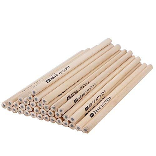 HB 2B potloden, milieuvriendelijk hout, voor het maken van potloden, grafiet, schrijven, potloodmarkering, kunst, schetsen, schaduwen, kantoor, werken 2B Dreiecksstange