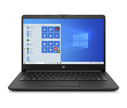 HP 14 Ultra Thin & Light 14-inch Laptop (10th Gen i3-1005G1/8GB/256GB SSD/Win 10 Home/MS Office/1.47 Kg/Jet Black), 14s-cf3074TU