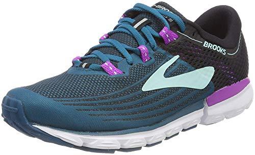 Brooks Women's Running Shoes, Multicolour Lagoon Black Purple 329, 9.5...