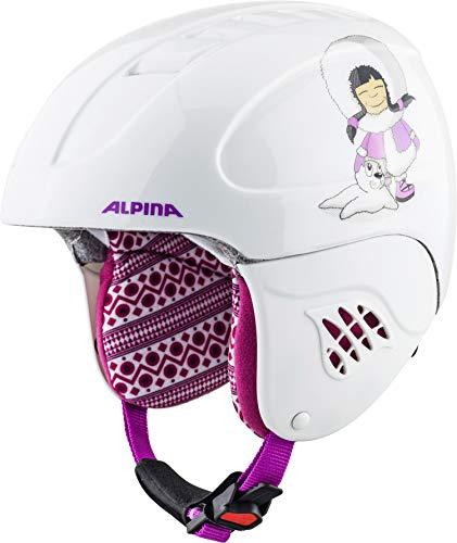 ALPINA CARAT Skihelm, Kinder, eskimo-girl, 51-55