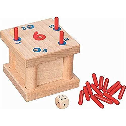 goki 56799 Peg Game The Tricky 6, Gemischt