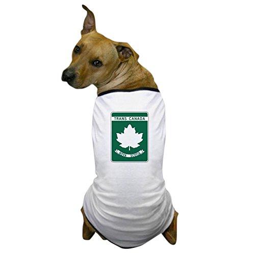 CafePress - Trans-Canada Highway, Nova Scotia Dog T-Shirt - Dog T-Shirt, Pet Clothing, Funny Dog Costume