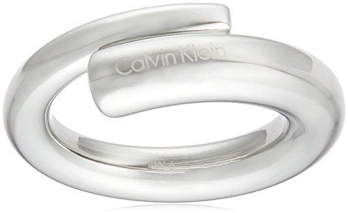 Calvin Klein Damen-Ring Ellipse extension Edelstahl silber, 58 (18.5)
