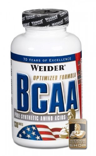 Weider BCAA Tabs Pure Synthetic Amino Acids, 260...
