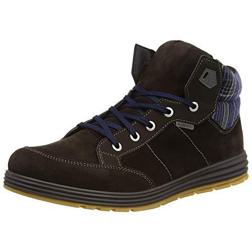 Ricosta Bayo, Jungen Hohe Sneakers, Braun (cafe 280), 41 EU (7 Kinder UK)