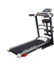 SKY LAND 2HP up to 4 HP Peak DC Motor Treadmill With Massager and Built-In Speaker -EM-1249