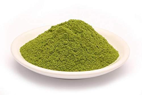 Bio Petersilie Pulver 1kg Öko Rohkost Petersiliepulver, Petersilie Blätter fein vermahlen, nicht erhitzte aromatische Kräuter, für Smoothies, Suppen, Salate und Saucen 1000g