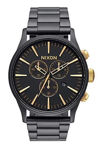 Nixon Orologio Cronografo Quarzo Adulti Unisex con Cinturino in Acciaio...