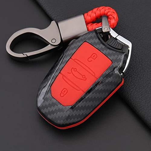 KPLDEKLC Autoschlüsselgehäuse Autoschlüsseletui , für Citroen C4 Cactus C5 C3 C4L 508, 2008, 408 3008 5008 308 C6 Cactus DS4 DS5L