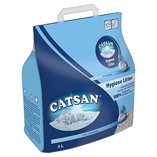 Arena para Gatos Catsan Hygiene de 5 l