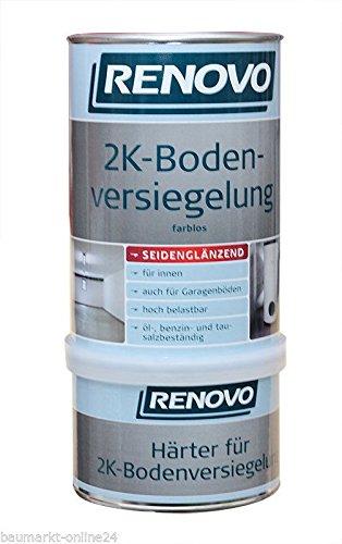 2K Boden-Versiegelung 1 L Bodenbeschichtung Farblos Renovo