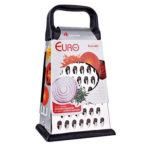 """Ralador 4 Faces 9"""" Euro Inox"""