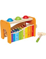 Hape E0305 Pound and Tap Bench with Slide Out Xylophone