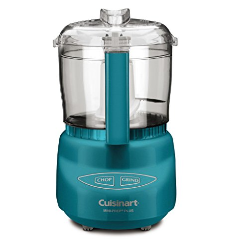 Cuisinart DLC-2AQWS, Aqua Mini-Prep Plus Food Processor, 24 Ounces