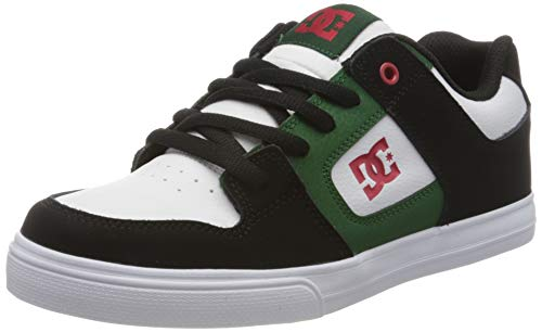 DC Shoes Pure - Leather Shoes for Kids - Lederschuhe - Kinder - EU 35 - Grau