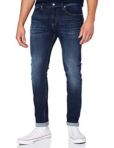Calvin Klein CKj 016 Skinny J Vaqueros, Azul (Denim 589), 32W / 32L para Hombre