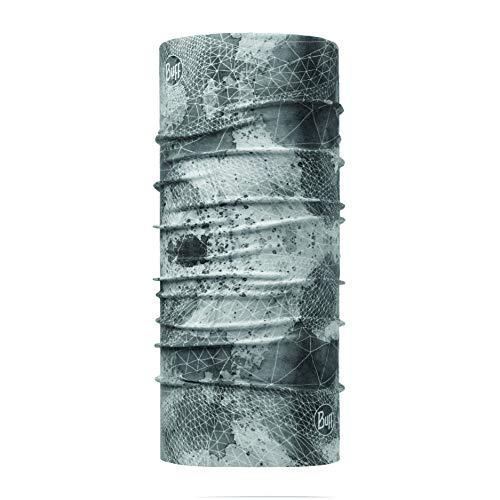 Buff Erwachsene Coolnet Uv+ Multifunktionstuch, Net Silver Grey, One Size