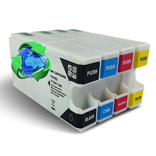 Global Toners. Set di 3cartucce di inchiostro compatibili Epson T79XLper stampanti Epson WorkForce Pro WF-4630DWF, WF-4640DTWF, WF-5110DW, WF-5190DW, WF-5620DWF, WF-5690DWF MultiPack Multipack